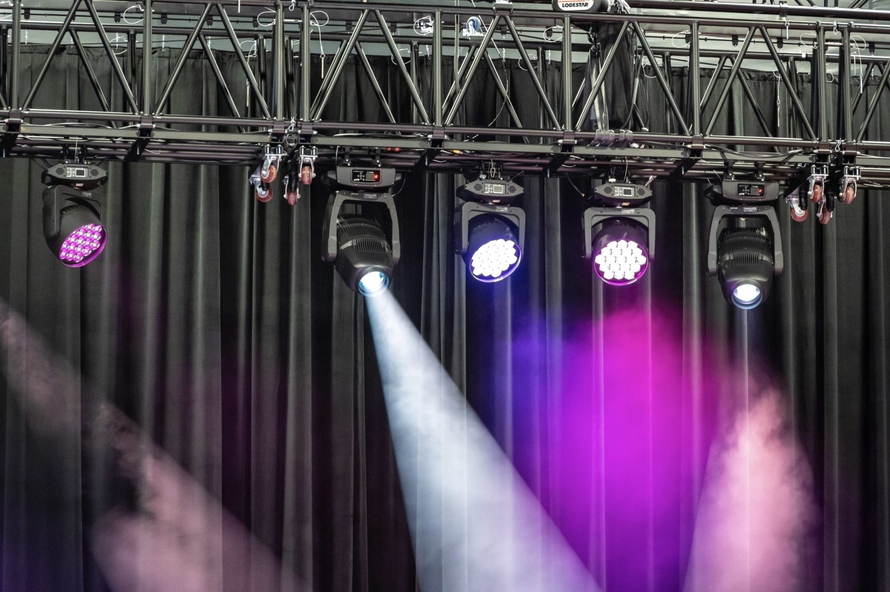 The venue is outfitted with state-of-the-art lighting and audio equipment. Photo by Phil Armstrong.