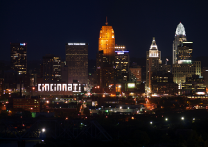 Downtown Cincinnati from Price Hill