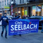 Chris Seelbach supporters at the 2013 Bockfest Parade