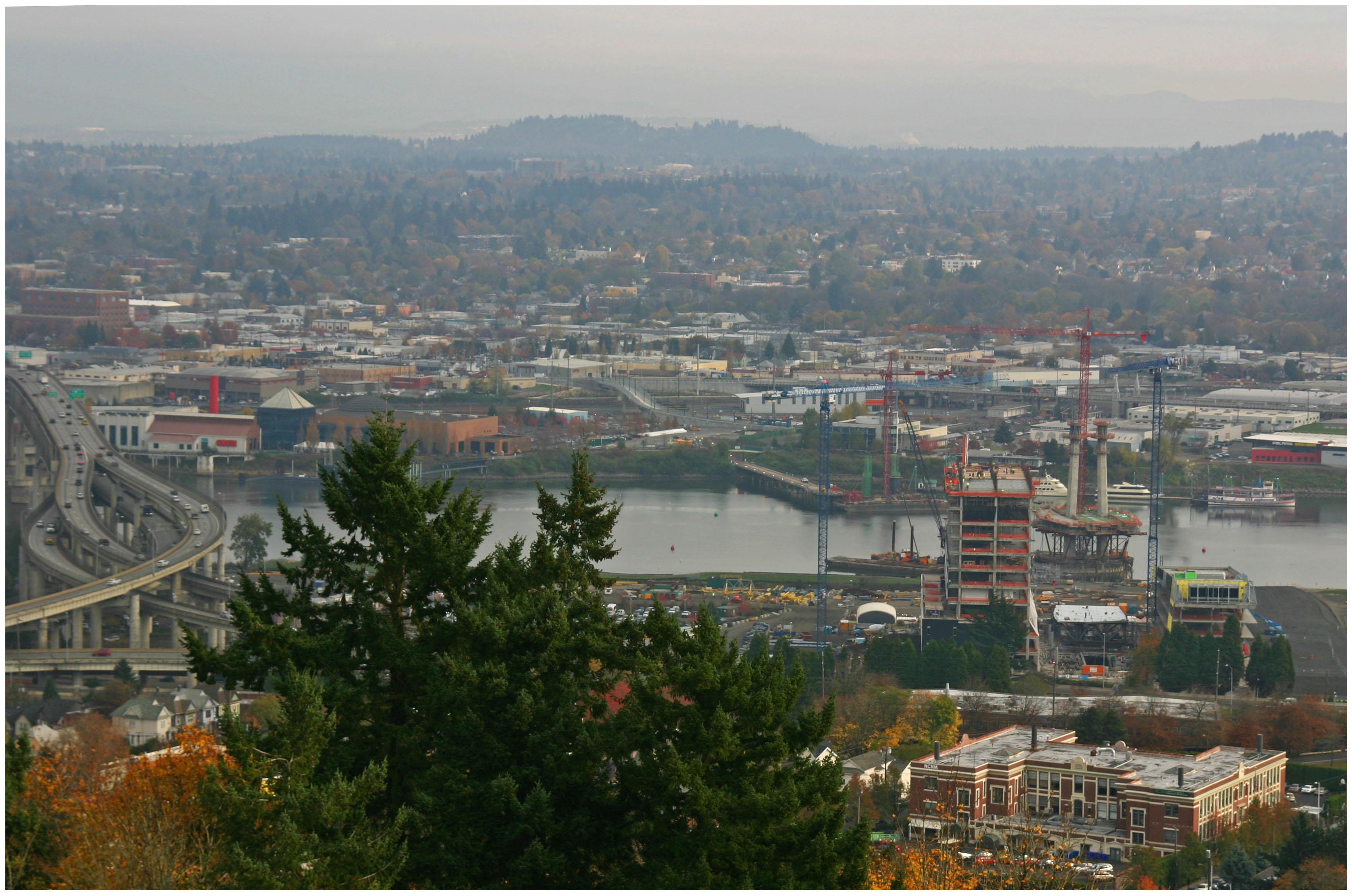 Portland-Milwaukie Light Rail Bridge