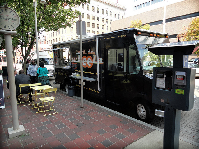 Cincinnati Food Truck at Court Street