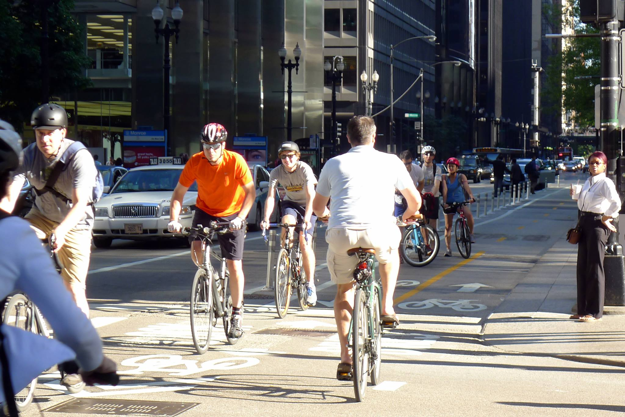 Dearborn Street Two-Way Cycle Track