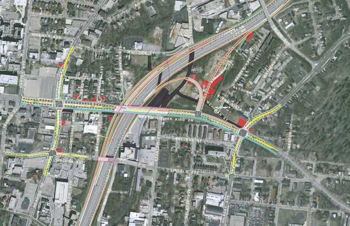 MLK Interchange Preferred Alternative