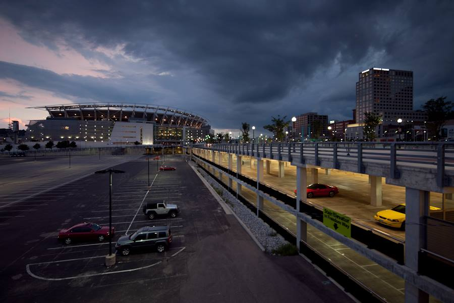 Central Riverfront Garage