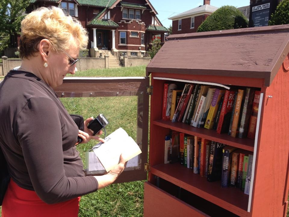 Bellevue Little Free Library