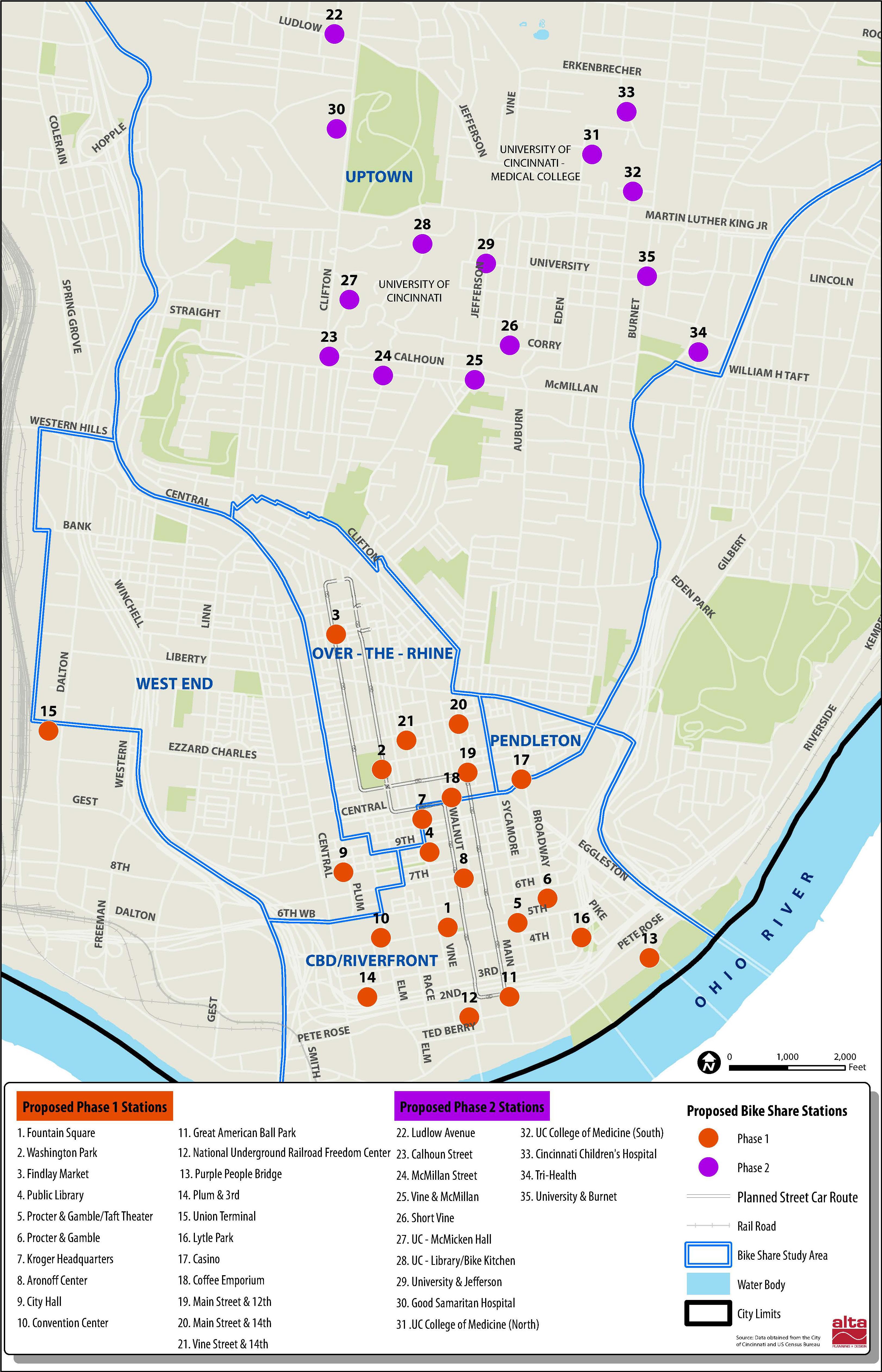 Austin B Cycle Map Cincinnati Bike Share Station Map — UrbanCincy