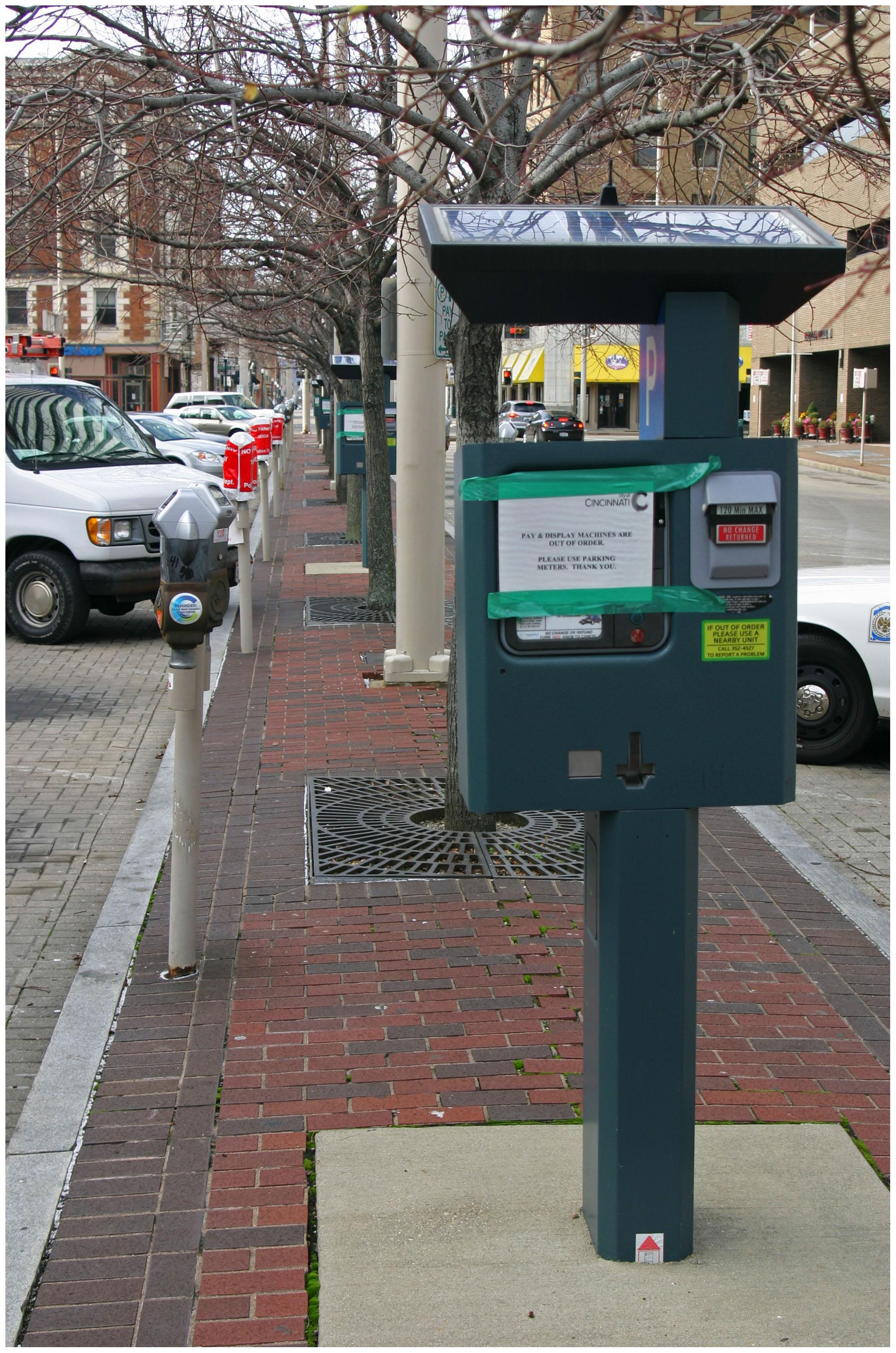 Cincinnati Parking Meter