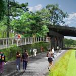 Overpass at North Highland Avenue [Atlanta BeltLine]