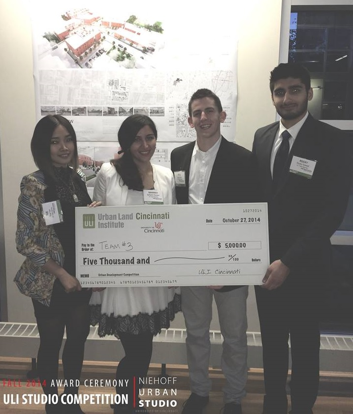 ULI Hines Cincinnati Competition Winning Team