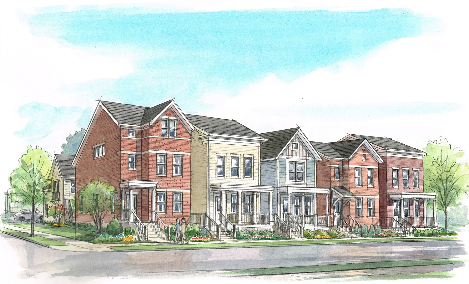 Great Traditions Planning High End Townhomes For Northside