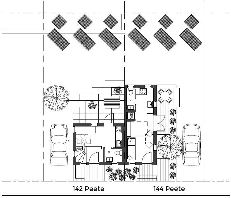 Peete Street Site Plan Urbancincy