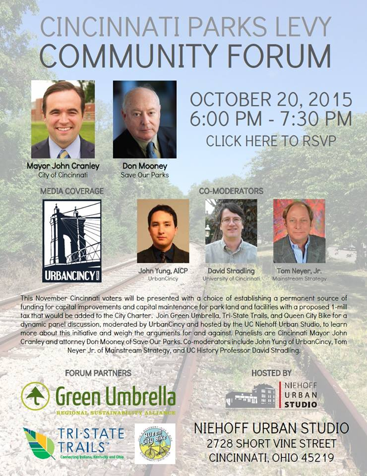 Cincinnati Parks Levy Community Forum