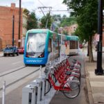 A new Red Bike station has been added right next to the Brewery District streetcar stop.